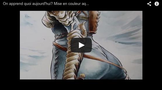 video technique aquarelle