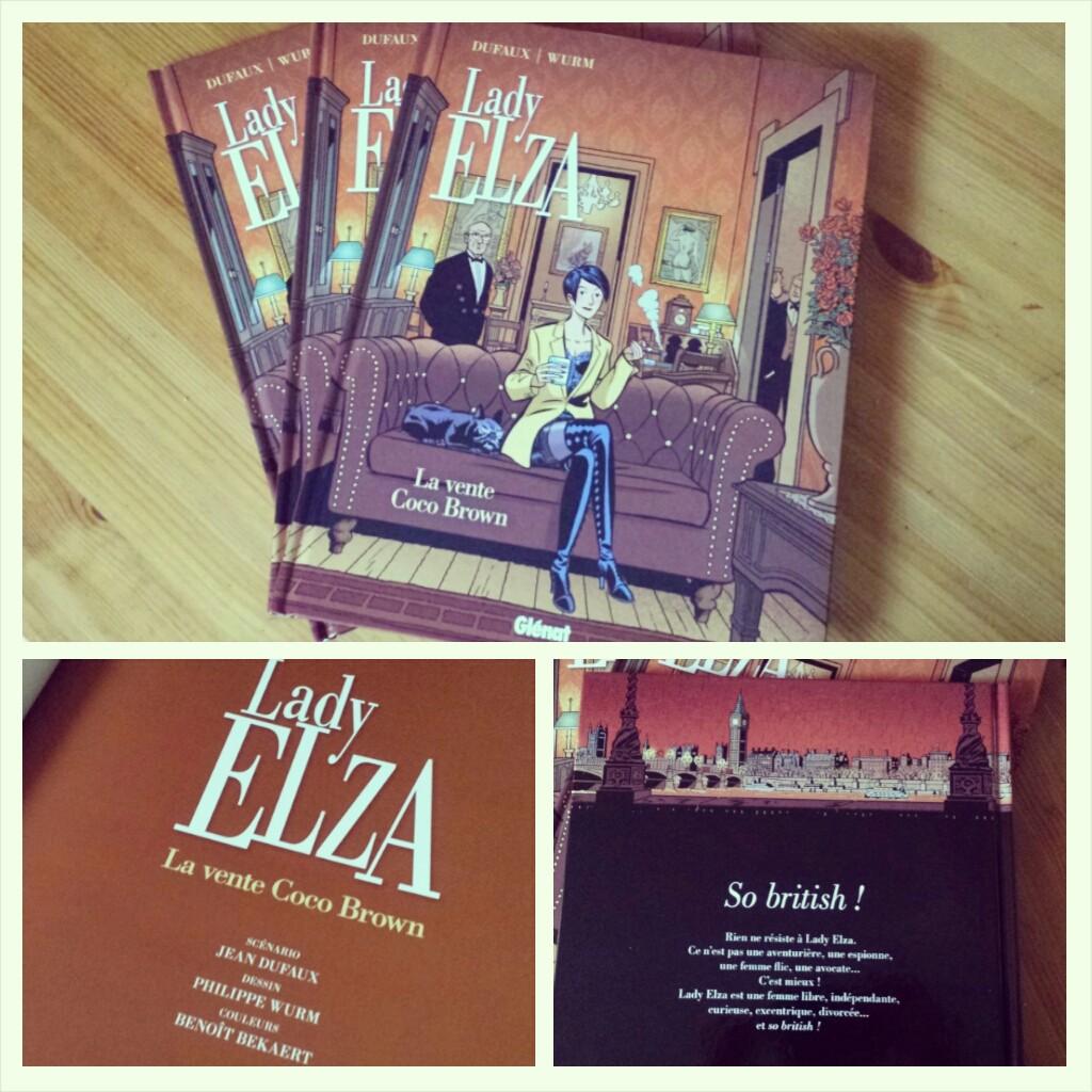 Lady Elza tome 2 Wurm & Dufaux