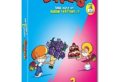 Le dessin animé des p'tits diables en DVD