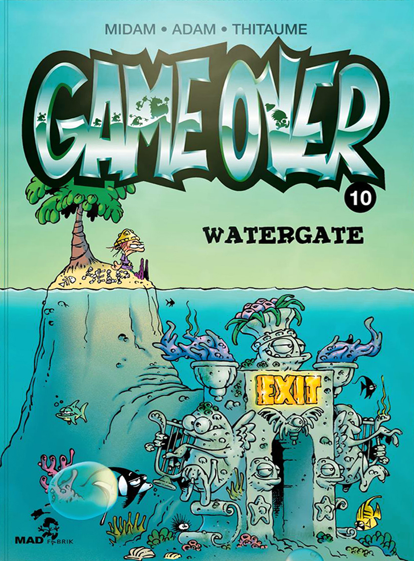 Game Over Tome 10 et sa couverture qui brille