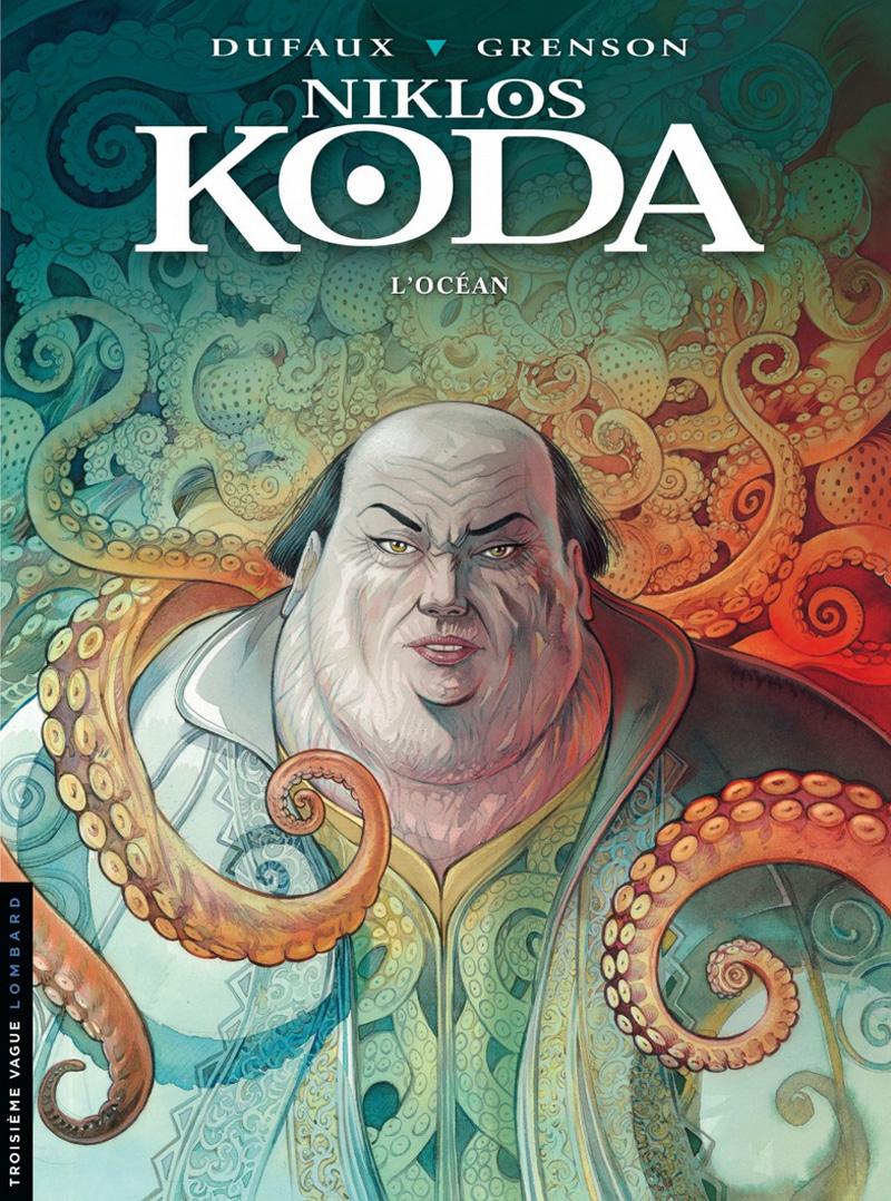 Niklos Koda tome 12- making of de la couv